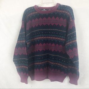 EUC- Vintage Structure 80s Unisex Pullover Sweater